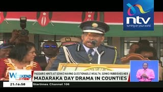 Governor Sonko and Esther Passaris war of words || Madaraka day drama