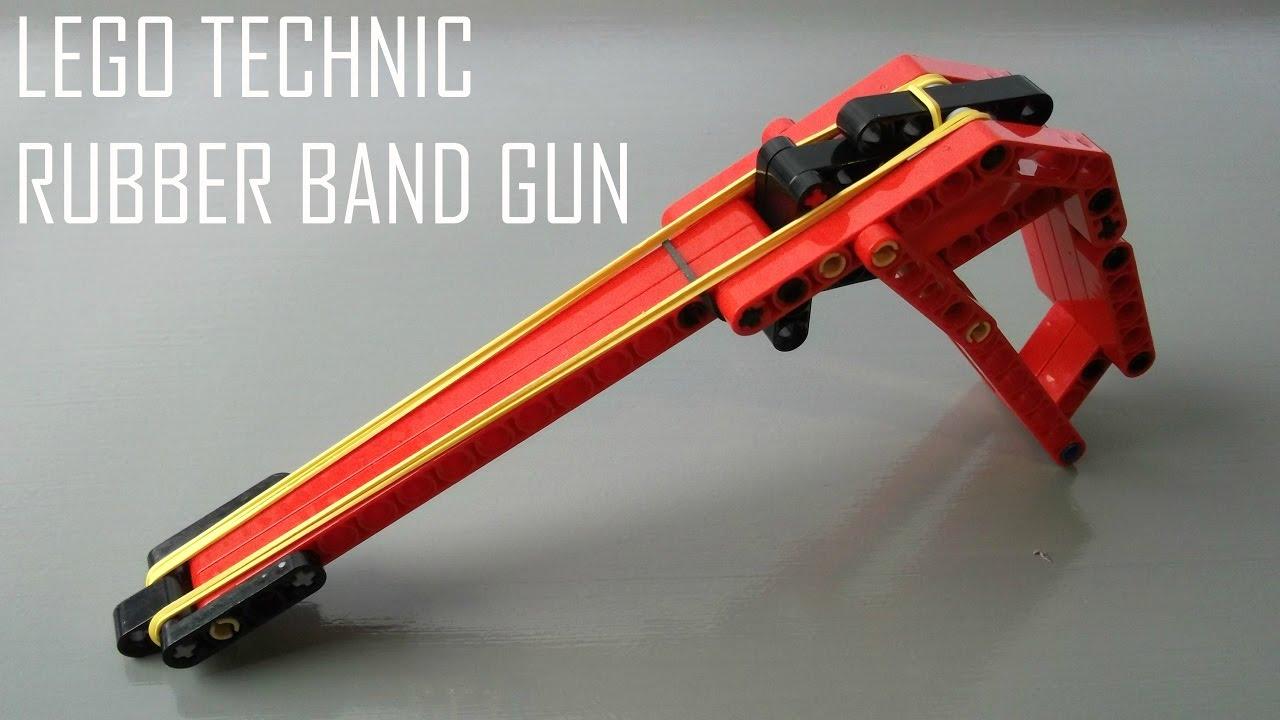 How To Make A Lego Technic Rubber Band Gun Semi