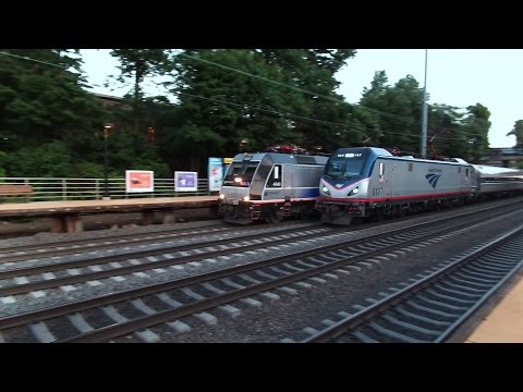 Trains On The Northeast Corridor
