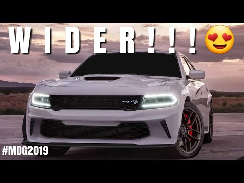 Dodge Will Make The NEW 2020 Charger 392 AND Hellcat Even Wider!!!