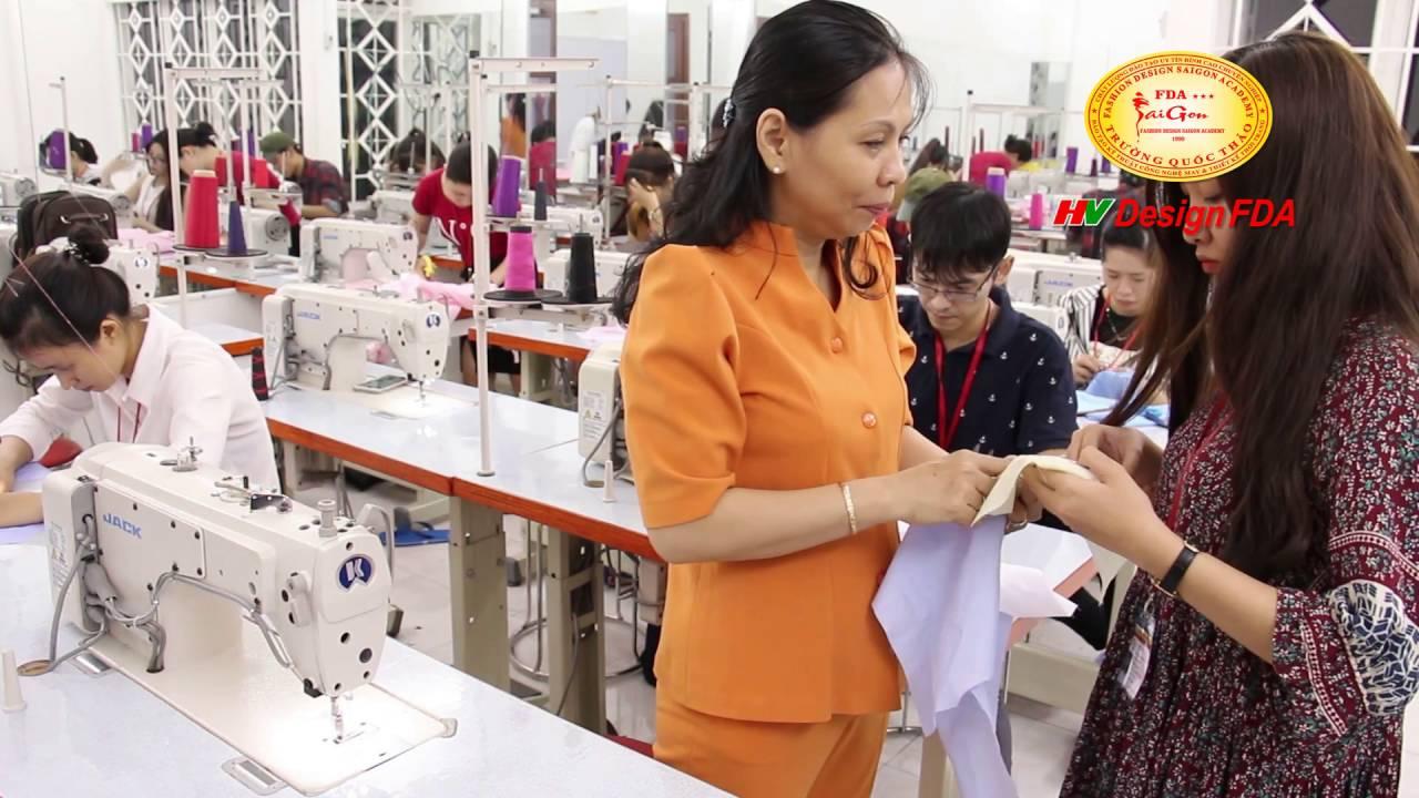 Dạy học cắt may quần áo thời trang