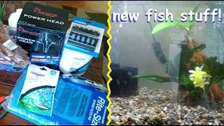 UNBOXING PETMOUNTAIN HAUL + setting up my new fish tank