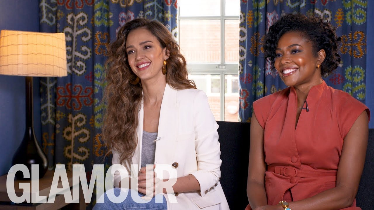 Jessica Alba & Gabrielle Union Get Candid On The Racism & Misogyny They've Faced | GLAMOUR UK