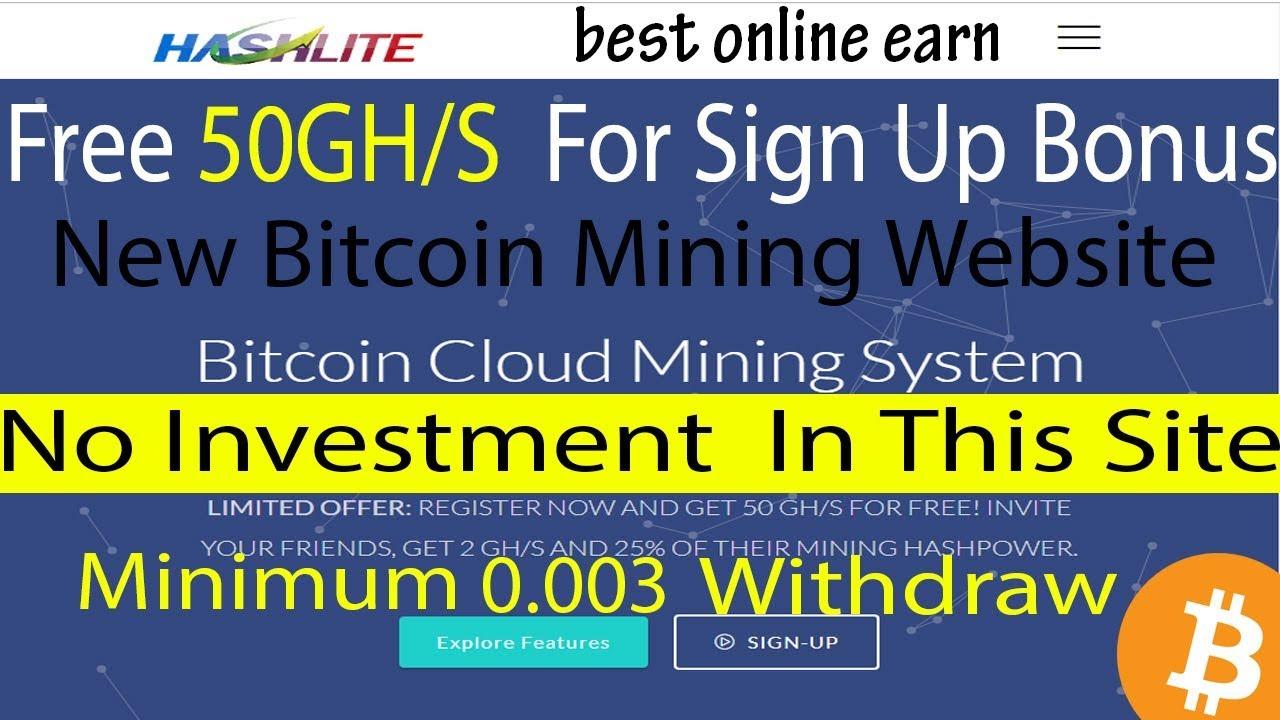 Free Bitcoin Mining BixiBit New Bitcoin Cloud Mining 2019 Signup