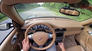 Porsche 911 carrera 4S POV test drive