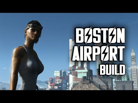 Boston Airport Efficiency Build - Fallout 4 Settlements