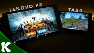 PUBG Mobile | Lenovo P8 Android Tablet | Gameplay