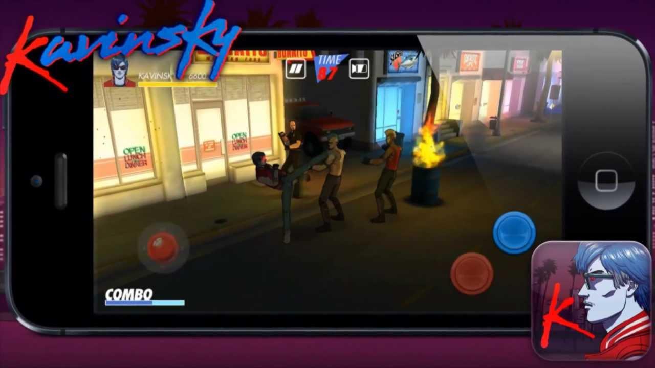 Kavinsky Video Game Trailer