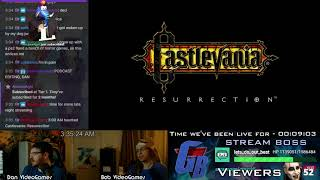 CASTLEVANIA: RESURRECTION PROTOTYPE GAMEPLAY TOUR [Livestream]