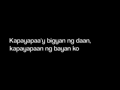 ASIN Cotabato Lyrics (Filipino & English)
