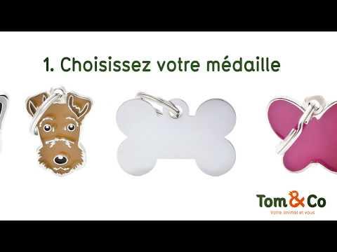Gravure de médailles chez Tom&Co