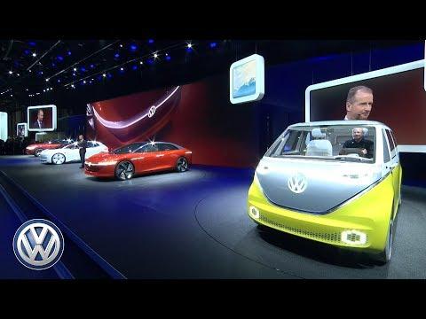 Volkswagen Press Conference at the Geneva Motor Show 2018