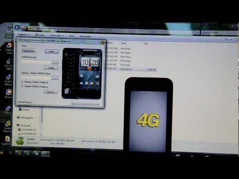 How To Get S-OFF & Root The HTC Evo Shift 4G!
