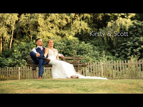 The Spa Hotel wedding highlights | Kirsty & Scott