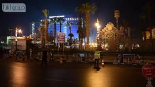 بالفيديو : استعدادات مرورية خاصة بالتحرير تمهيدا لوصول تمثال رمسيس الثاني