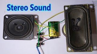 How To Make Stereo Amplifier Using TDA 2822 || English Subtitle