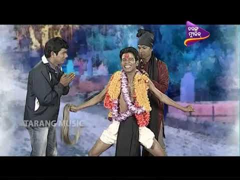 CID  Odia Comedy   Pragyan as Guniya Part 1  Tarang