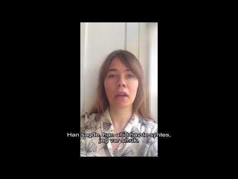 MeToo fortælling genfortalt af Birgitte Hjort Sørensen