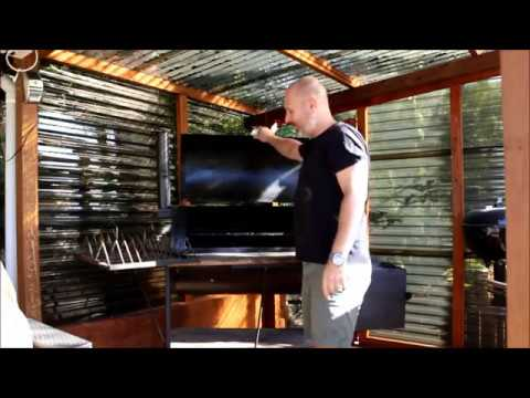 DIY CONVERT YOUR OFFSET SMOKER TO GAS PROPANE