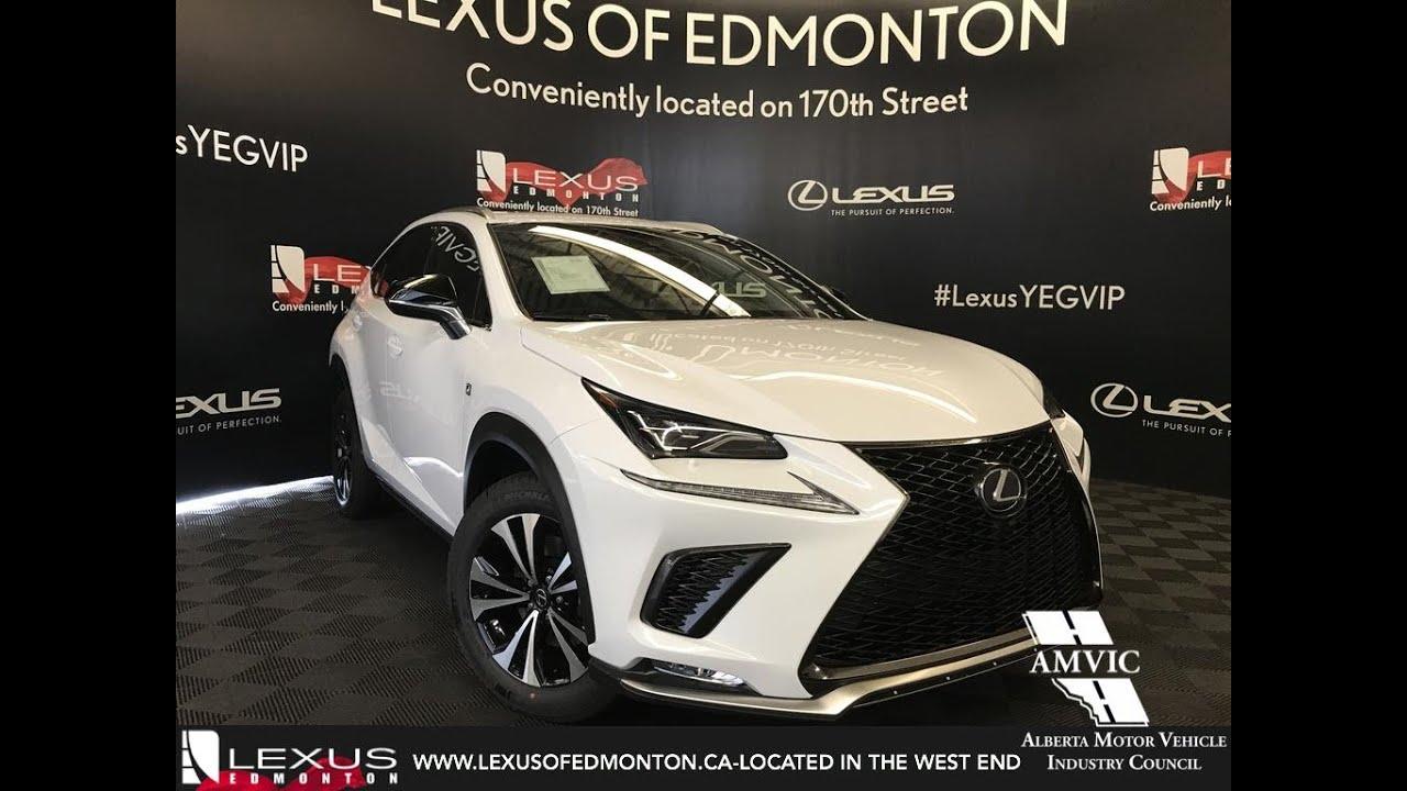 White 2019 Lexus Nx 300 F Sport Series 1 Review Edmonton Alberta