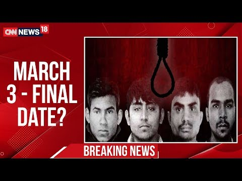 Nirbhaya Case: Delhi Court Issues New Death Warrant For Convicts To Be Hanged On 3rd March