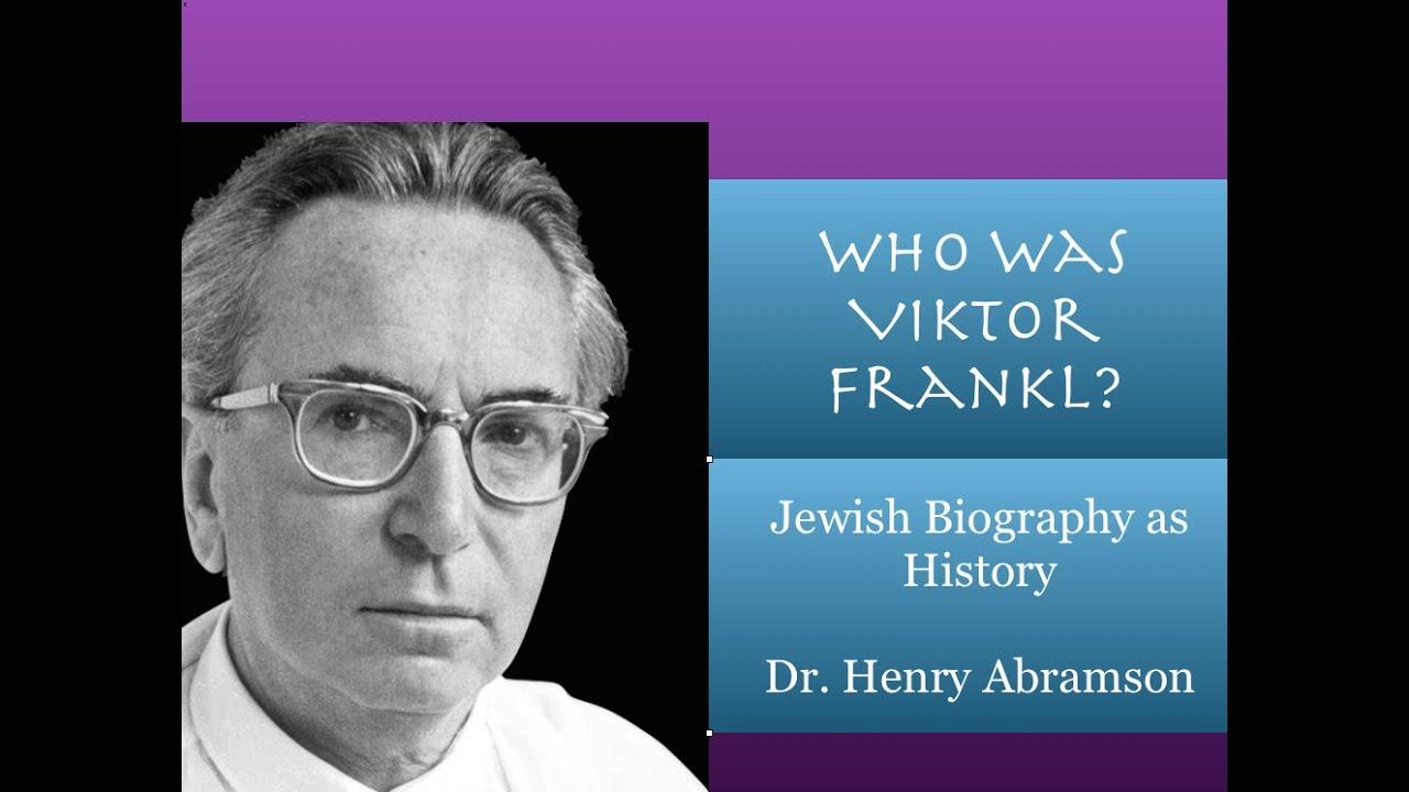 Obituary: Viktor Frankl | The Independent