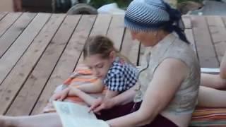 Мы читали с тобой сказки Гаршина...  Летним вечером на балконе, окунаясь в далёкое детство.