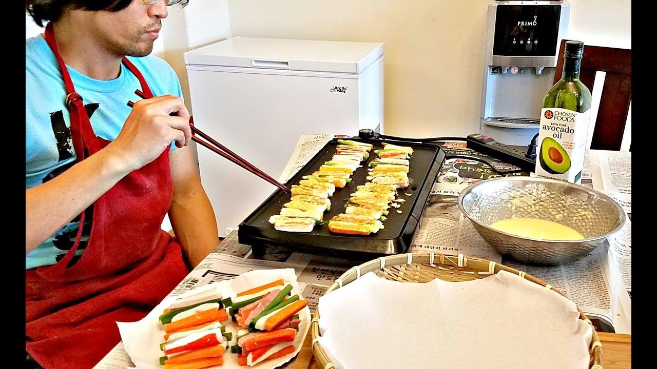 Easy sanjeok recipe korean pancakejeon youtube easy sanjeok recipe korean pancakejeon forumfinder Gallery