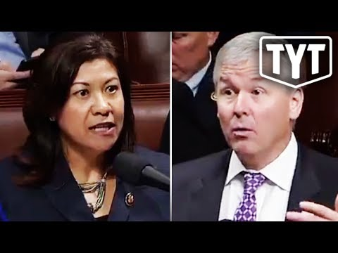 Democrat Triggers Republican On House Floor