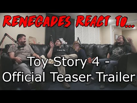 Renegades React To... Toy Story 4 - Official Teaser Trailer