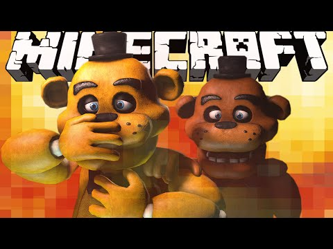 BLOWING UP FIVE NIGHTS AT FREDDY'S!! | Minecraft