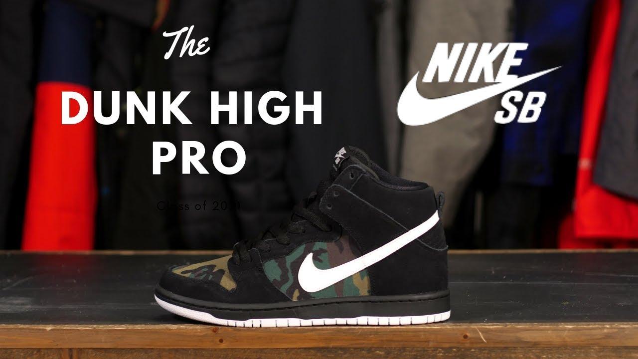 silencio Significado Alpinista  The Nike SB Dunk High Pro Shoes - YouTube