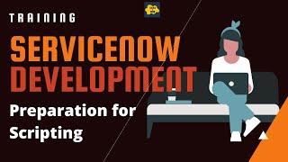 #1 ServiceNow Developer Training  | Preparation for Scripting