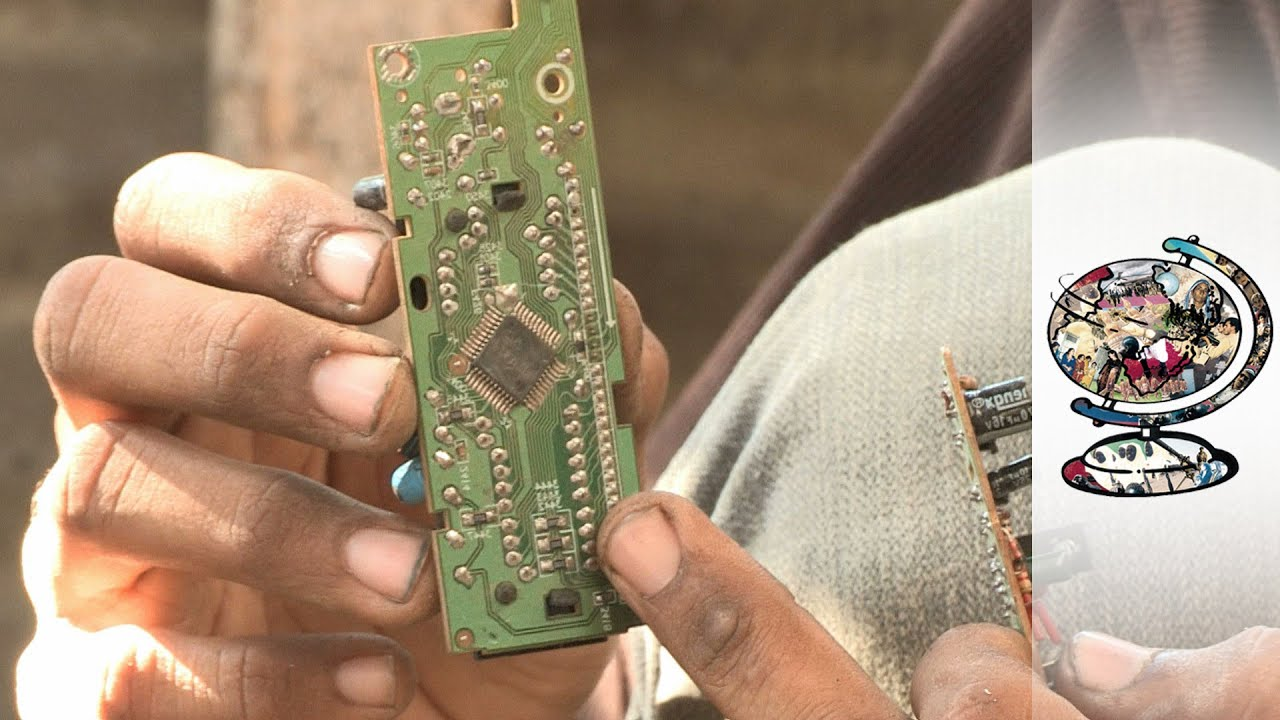 The Toxic E-Waste Trade Killing Pakistan's Poorest