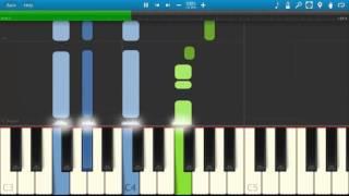 Beni Affet Dizi muziyi-Piano Tutorial