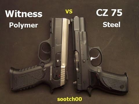 CZ 75 Vs EAA Witness Pistol