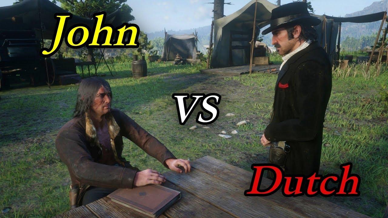 John VS Dutch Conversations / Hidden Dialogue /Red Dead Redemption 2