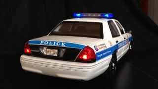 1:18 Honolulu Police Department Diecast Replica w/ Siren &