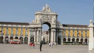 PRAÇA DO COMÉRCIO, Lisboa (Portugal) [HD]