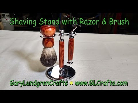 How To Make a Shaving Stand Set.  Ep.2016-39