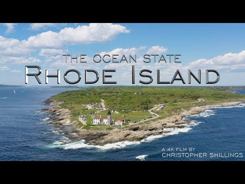 BEAUTIFUL RHODE ISLAND (Newport / Jamestown) AERIAL DRONE 4K VIDEO