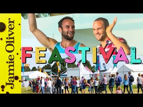 The Happy Pear Live On Stage @ Feastival 2015
