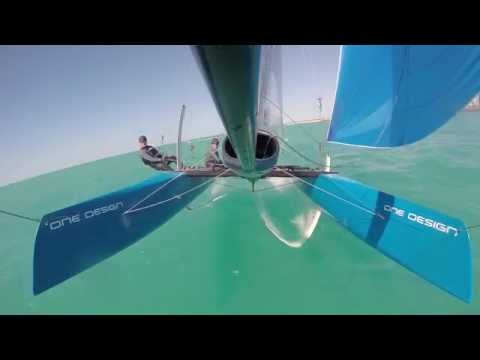 Flying phantom sails in AD