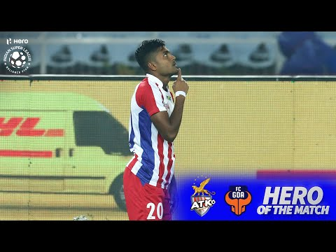 Hero Of The Match- Pritam Kotal | ATK FC 2-0 FC Goa | Hero ISL 2019-20