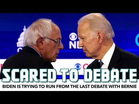 Biden Is Trying To Run From The Last Debate With Bernie