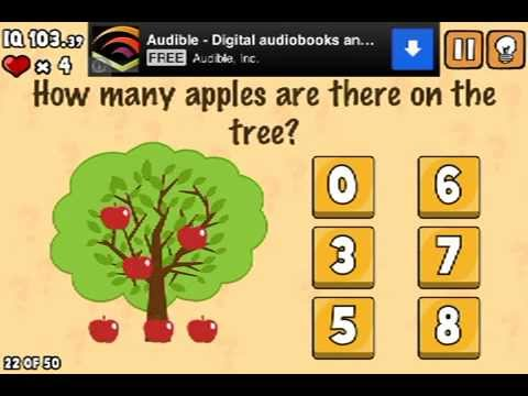 LEVEL 22 WALKTHROUGH What's my IQ ? (iPhone,iPod,iPad) IQ TEST