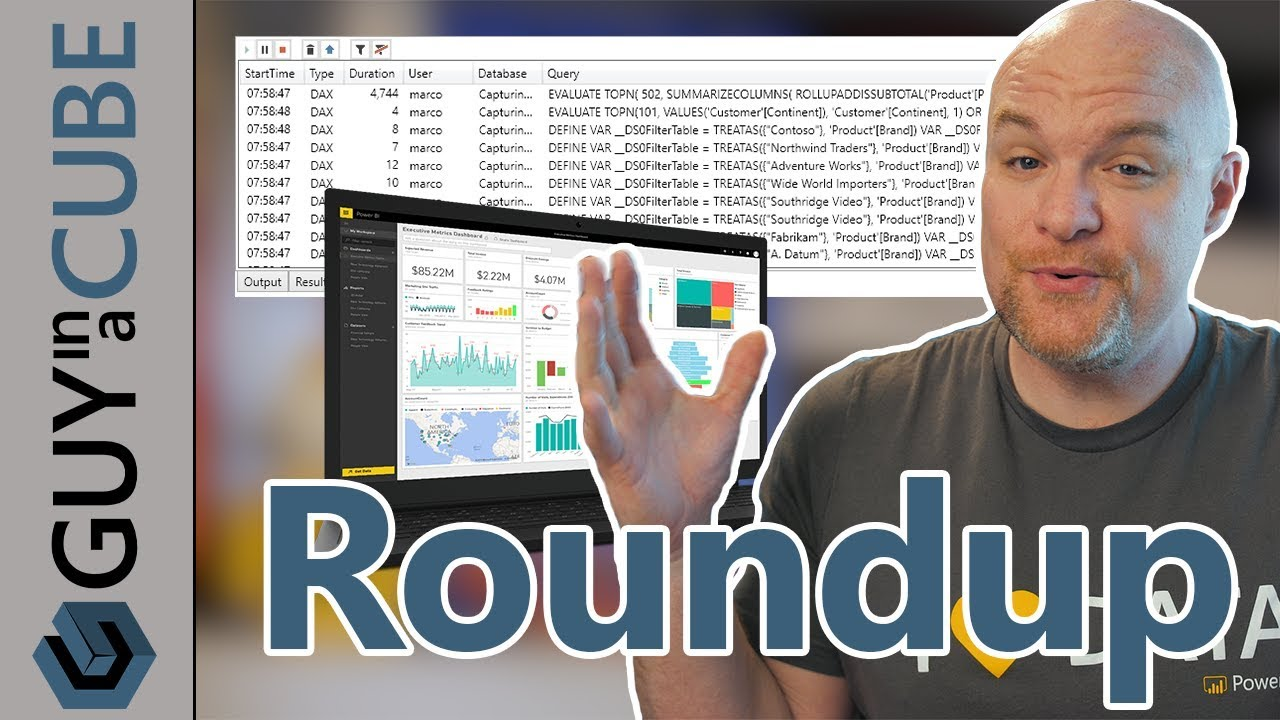 Power BI updates, CDS-A, DAX, Power Query and more