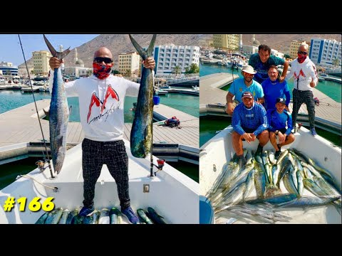 Dubai Deep Sea Fishing |  Amazing  Khorfakkan Deep Sea Fishing Trip | King Fish | Mahi Mahi