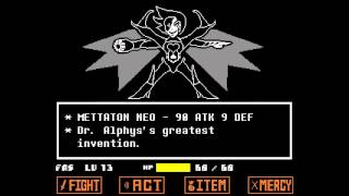 Undertale - Mettaton NEO Boss Fight