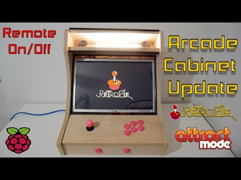 Bartop Arcade Running Retropie and Attract Mode by Miles Noe